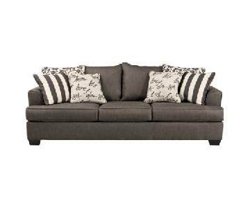 Ashley Levon Charcoal Queen Sleeper Sofa