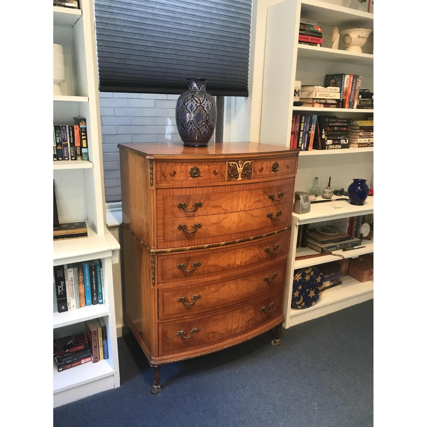 1930s Carved Wood Chest