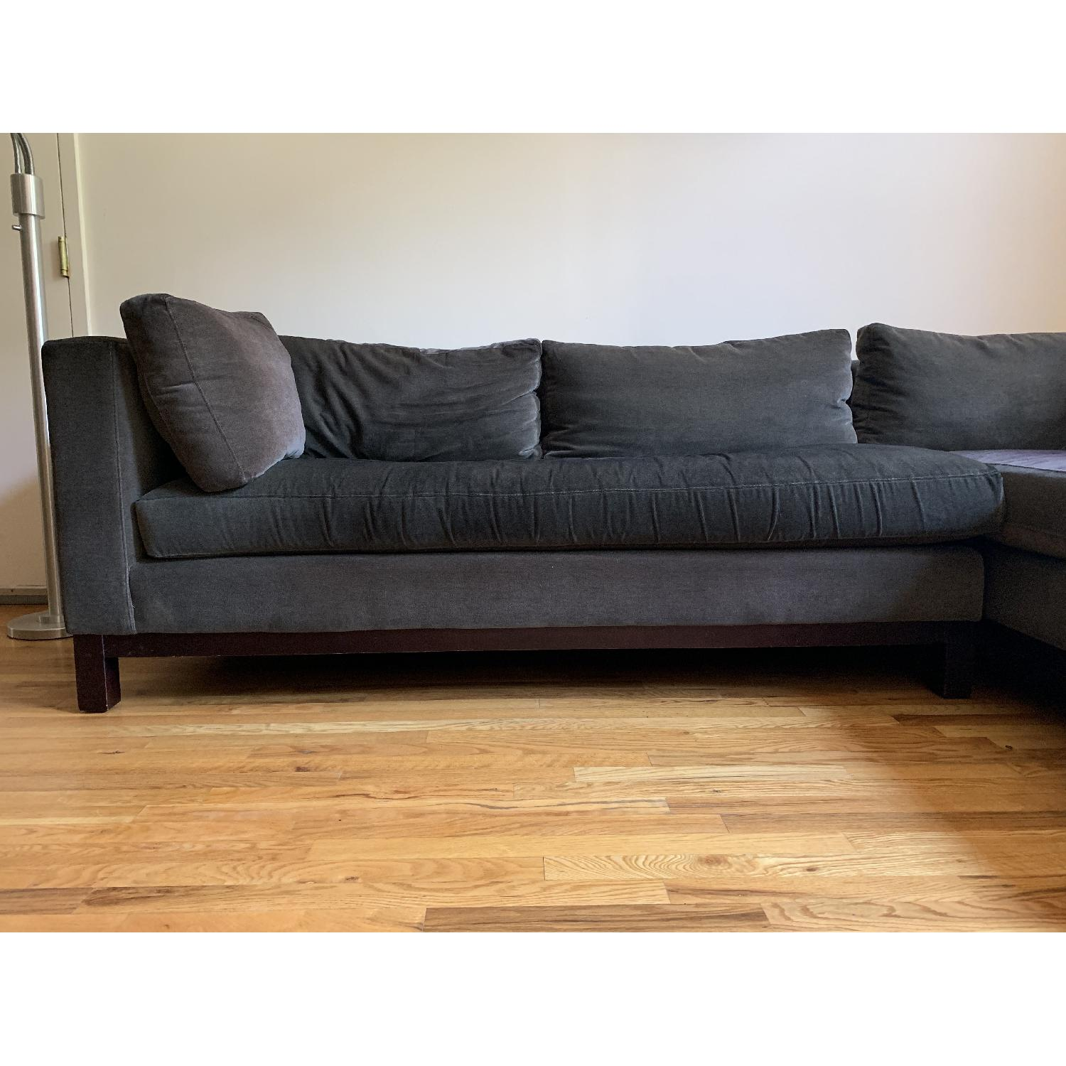 Outstanding Crate Barrel Delaney 2 Piece Sectional Sofa Aptdeco Gamerscity Chair Design For Home Gamerscityorg