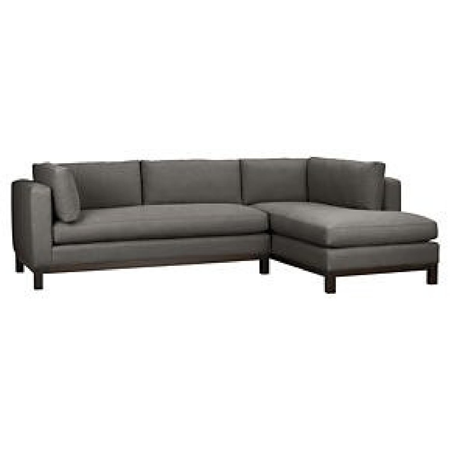 Cool Crate Barrel Delaney 2 Piece Sectional Sofa Aptdeco Gamerscity Chair Design For Home Gamerscityorg