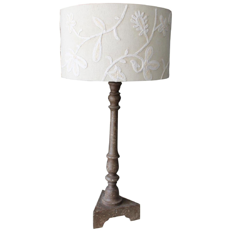 Pottery Barn Rustic Desk Lamp