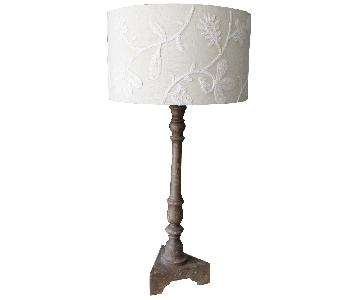 Pottery Barn Rustic Desk Lamp
