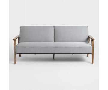 World Market Xander Convertible Loveseat