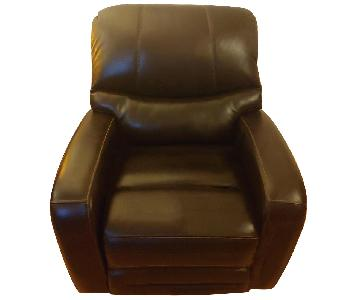 Raymour & Flanigan Tevin Swivel Power Recliner