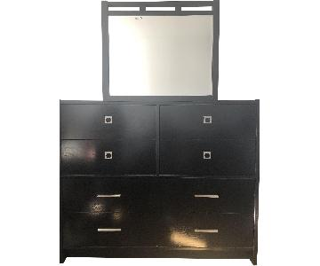 Chest of Drawers/Dresser w/ Attached Mirror