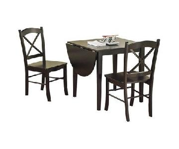 Charlton Home Castellon Dining Table w/ 2 Chairs