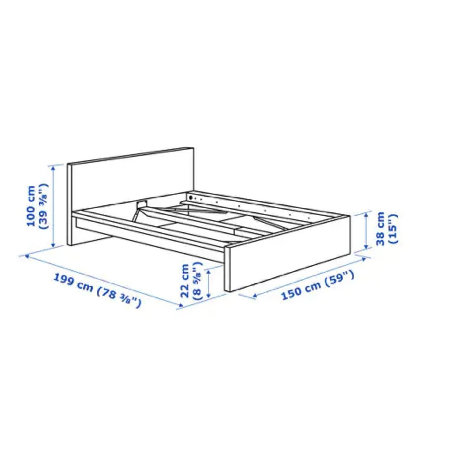 Ikea Malm Full Size Bed Frame