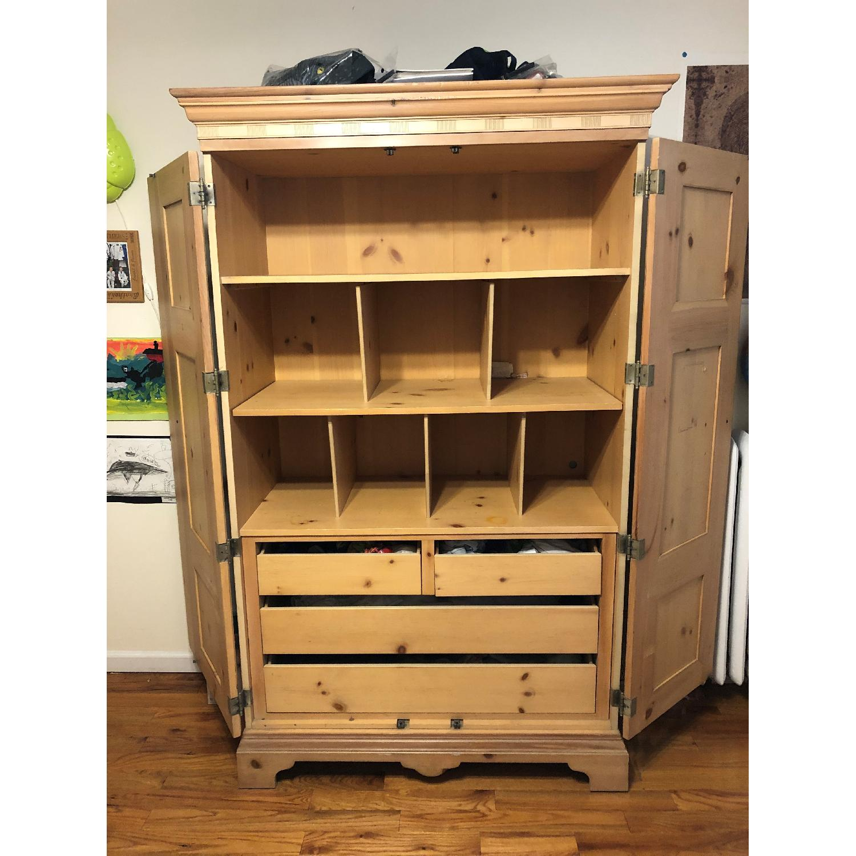 Antique Wood Armoire
