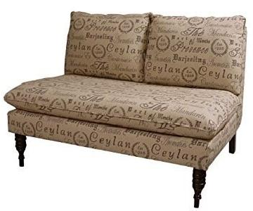 Joss & Main Armless Loveseat