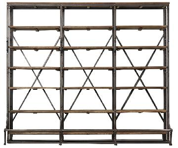 Restoration Hardware French Library Triple Shelving