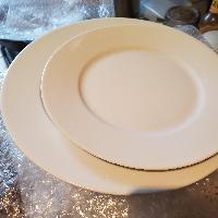 IKEA 360 White Plates