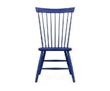 Ethan Allen Blue Side Chair
