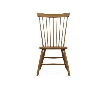 Ethan Allen Orange Side Chair