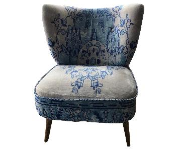 Anthropologie Dhurrie Petite Accent Chairs