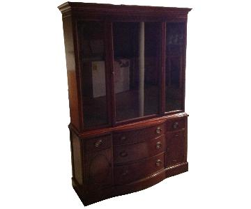 Drexel Heritage 1955 Cherrywood China Cabinet