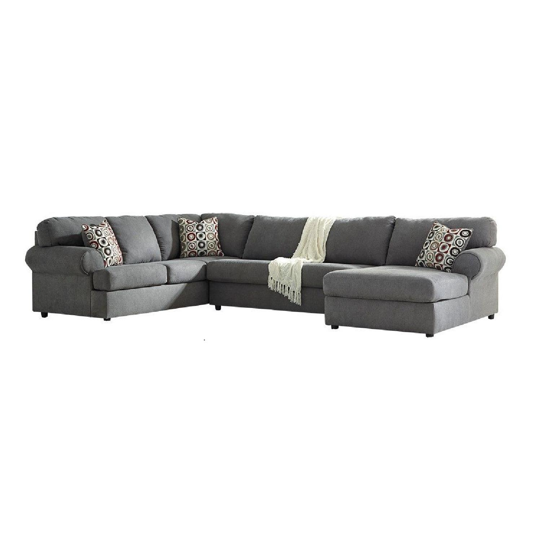 Ashley Jayceon 3 Piece Sectional Sofa w/ Chaise - AptDeco