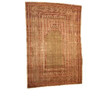 Antique Handmade Turkish Ghurdes Prayer Rug