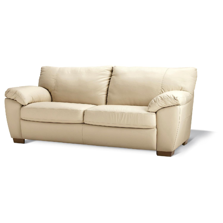 Ikea Vreta Leather Sofa - AptDeco