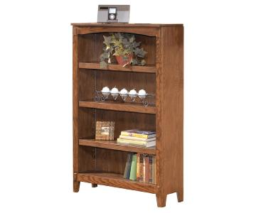 Ashley Cross Island Bookcase