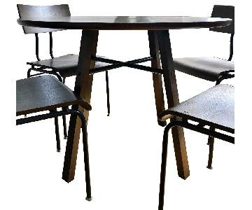 Crate & Barrel Scholar 5-Piece Dining Set