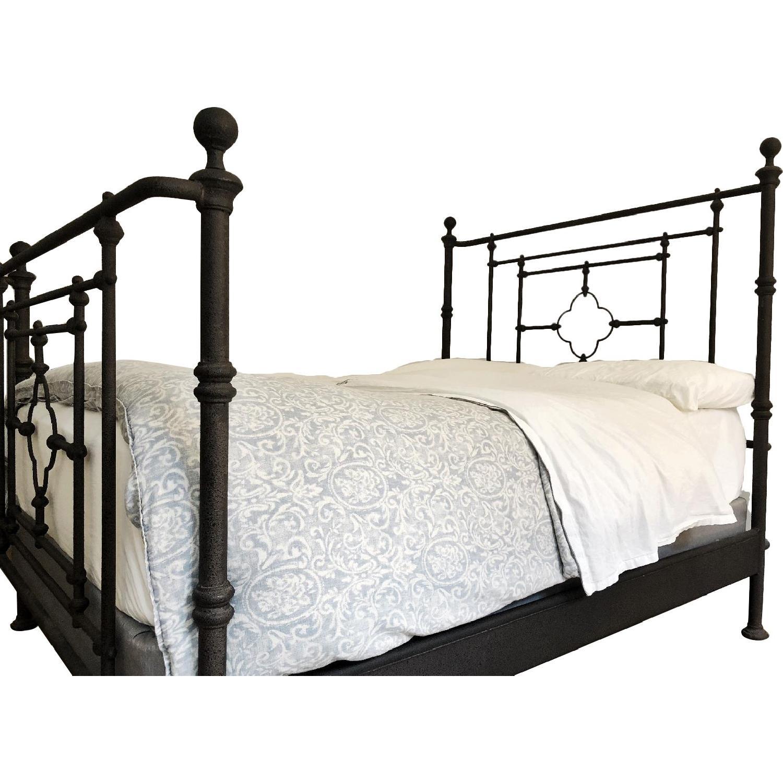 Restoration Hardware Iron Bed