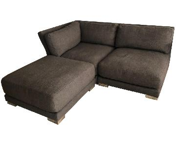 CB2 Gybson 2-Piece Sectional Sofa