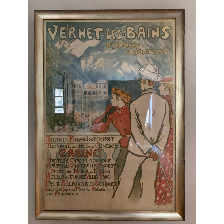Steinlen Vintage Framed France Poster