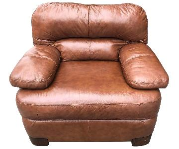 Ashley Leather Armchair