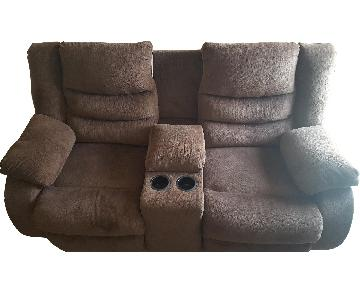 Ashley Double Leggett Power Recliner Loveseat