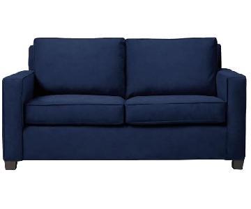 West Elm Henry Queen Sleeper Sofa in Mod Weave Fabric