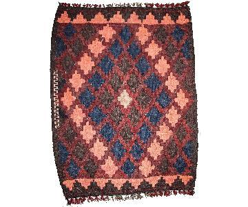 Antique Handmade Afghan Kilim Rug
