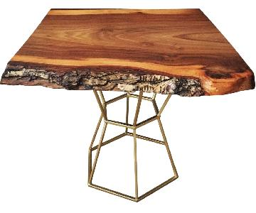 Live Edge Cocktail/Coffee Table