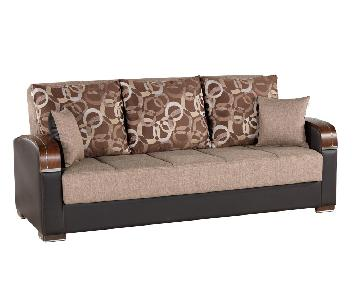 Mobimax Full Size Sofa Bed in Brown