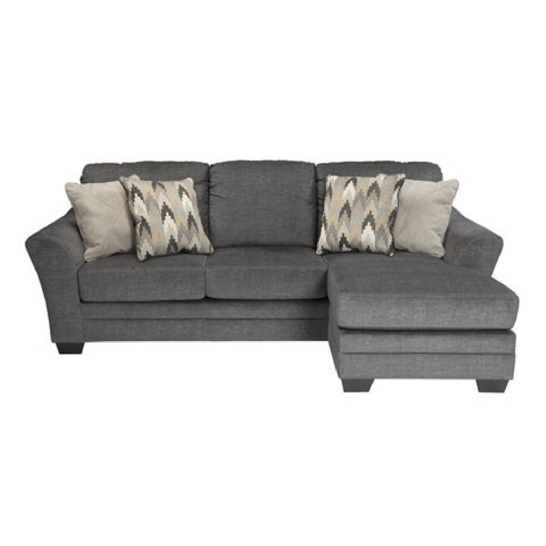 ashley 39 s braxlin queen sleeper sectional sofa