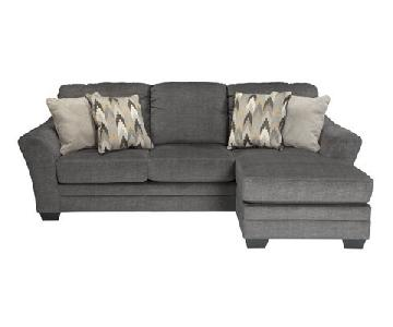 Ashley's Braxlin Queen Sleeper Sectional Sofa