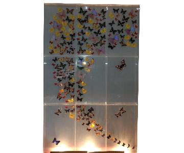 9 Panel Butterfly Mural by Marshall Hill
