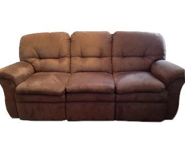 La Z Boy Microfiber Sofa