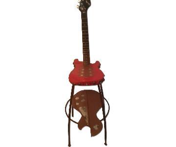Frankenart Mini Guitar Stool