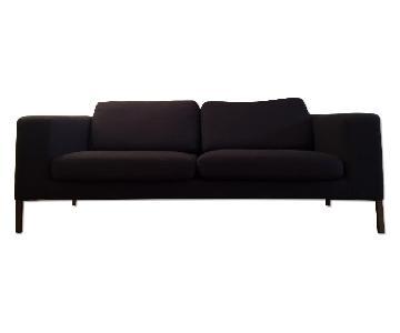 Design Within Reach Theatre Sofa in Grey Fabric