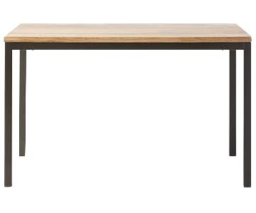 West Elm Box Frame Dining Table
