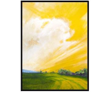 West Elm Western Dawn Painting