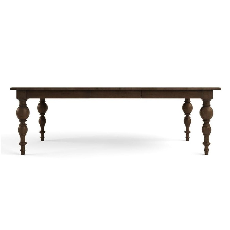 Restoration Hardware Rectangular Extension Dining Table