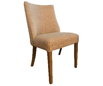 Restoration Hardware Fabric Side Chairs