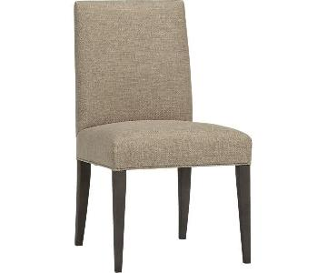 Crate & Barrel Miles Modern Dining Chairs