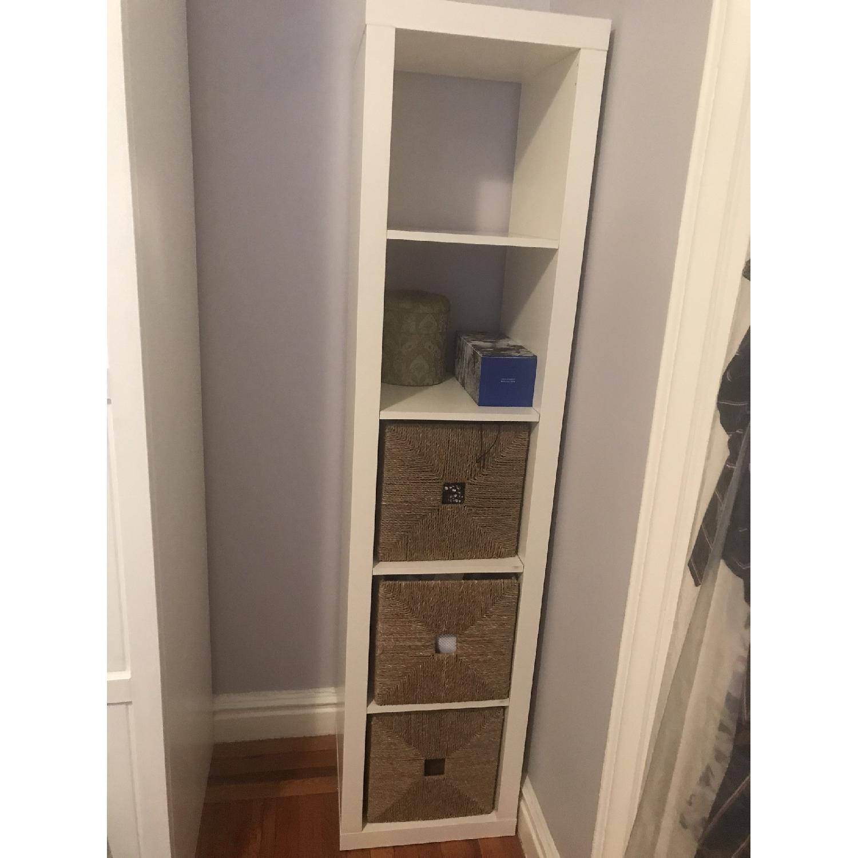 Ikea Expedit Shelf Unit w/ 3 Baskets
