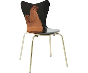 West Elm Rauschenberg Scoop-Back Dining Chair