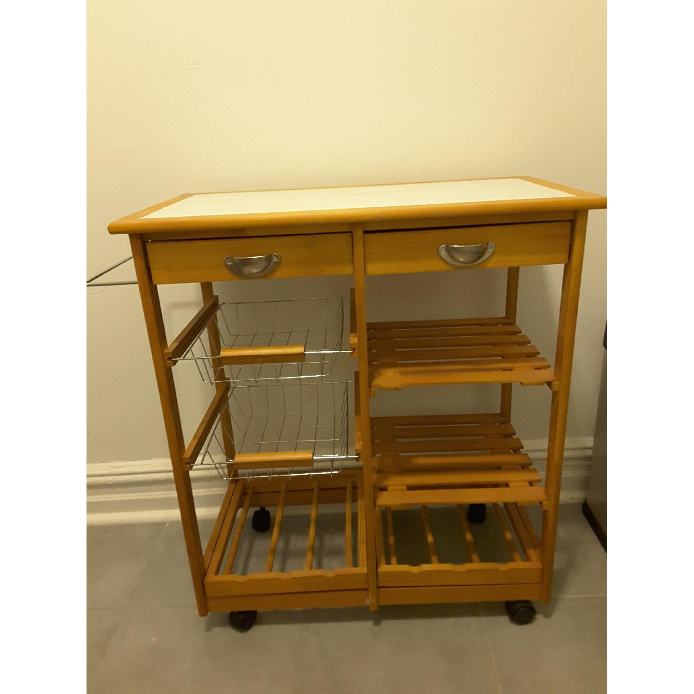 Winston Porter Kitchen Cart
