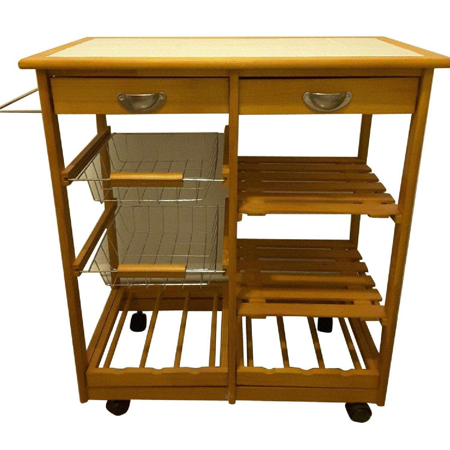 Winston Porter Kitchen Cart