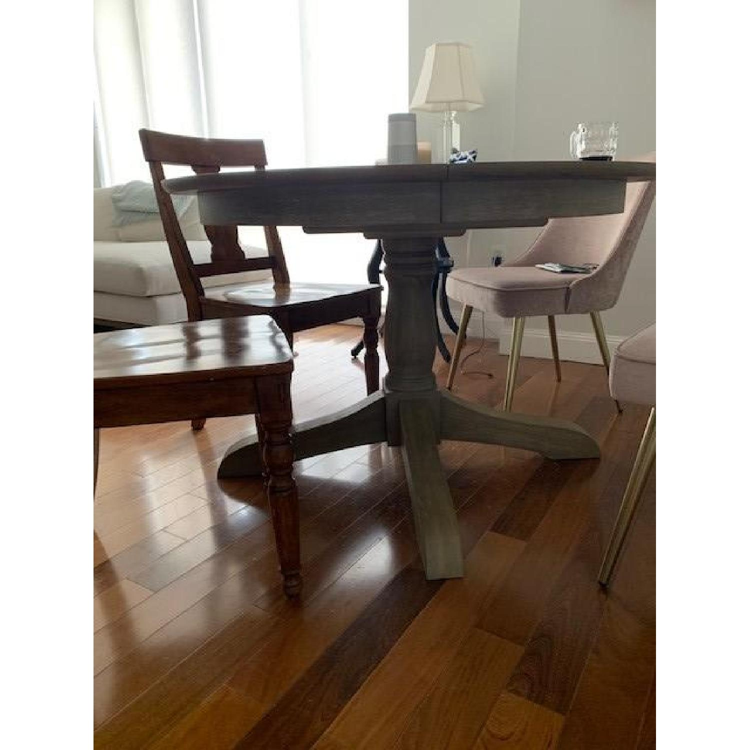 Pottery Barn Owen Extending Pedestal Dining Table