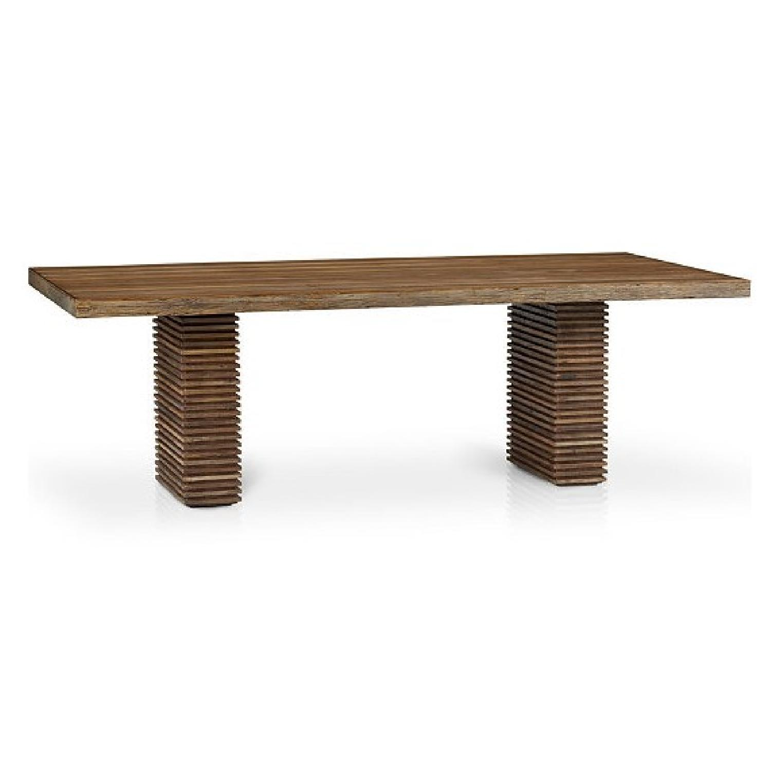 Crate & Barrel Paloma II Reclaimed Wood Dining Table